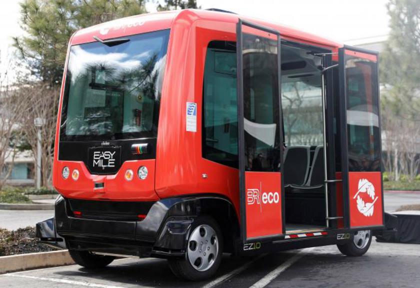 Bus Tanpa Kemudi Ini Akan Segera Beroperasi