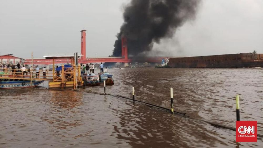 Kapal Meledak di Sungai Musi, Tujuh Orang Jadi Korban