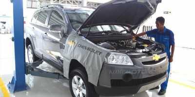 Bengkel Siaga Chevrolet untuk Pemudik