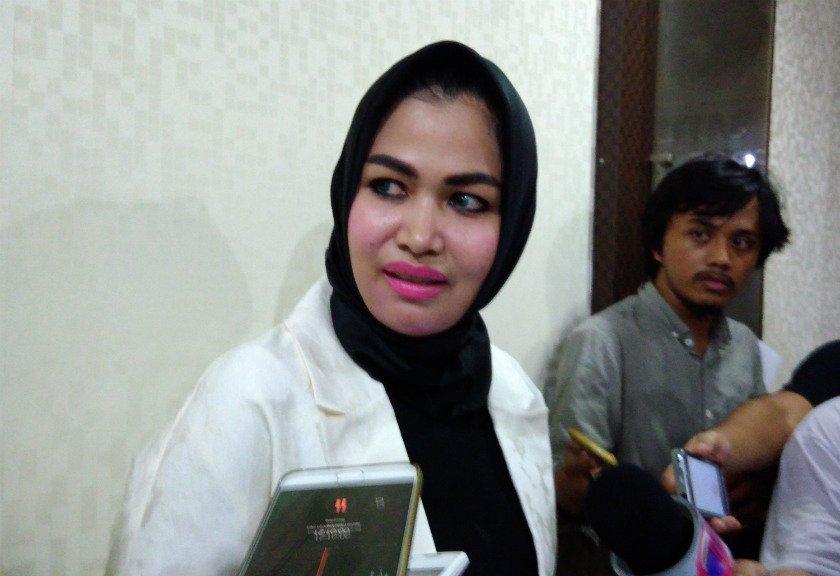 Camelia 'Petir' Syok Ridho Rhoma Ditahan
