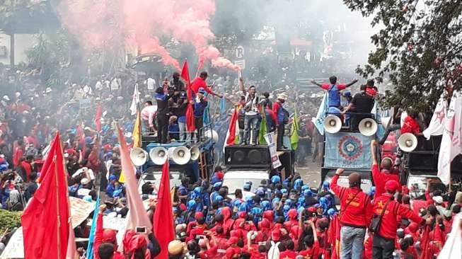 Tidak Demo, Buruh di 3 Daerah Ini Peringati May Day dengan Unik