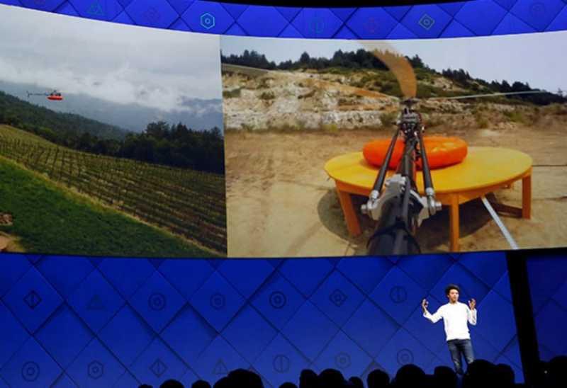 Facebook Bikin Helikopter yang Bisa Sebar Akses Internet