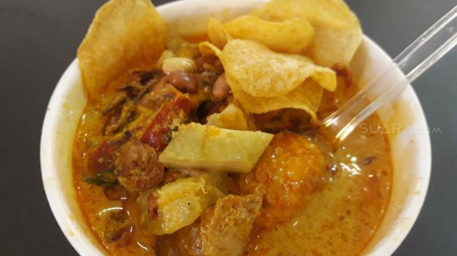 Lontong Goblok, Makanan Hits di Jakarta Street Food Festival 2018