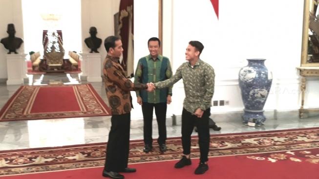 Pagi Ini, Egy Maulana Vikri Bertemu Presiden Jokowi