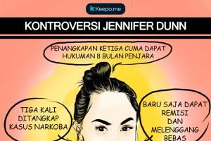 Belum Genap 8 Bulan Penjara, Jennifer Dunn Sudah Menghirup Udara Bebas