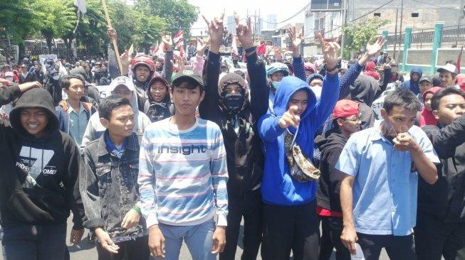 Ratusan Anak STM Ditangkap saat Mau Demo ke Jakarta