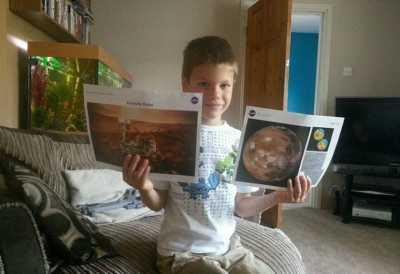 Mau Jadi Astronot dan Pergi ke Mars,Bocah 7 tahun Ini Surati NASA