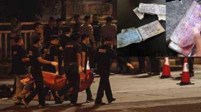 Misteri Buku Kode Berlumur Darah di Lokasi Bom Kampung Melayu