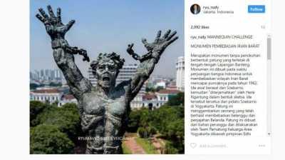 Usai Wajah Patung Pancoran, Muncul Wujud Patung Lapangan Banteng