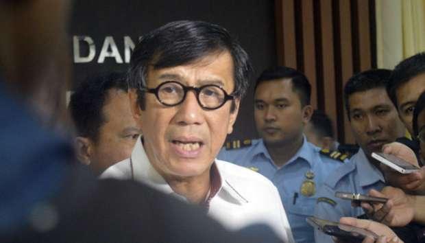 Menteri Yasonna Janji Tunjukkan Video Ancaman Pembunuhan Ahok