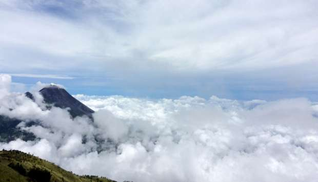 Jalur Pendakian Baru Merapi Dibuka Mei 2017