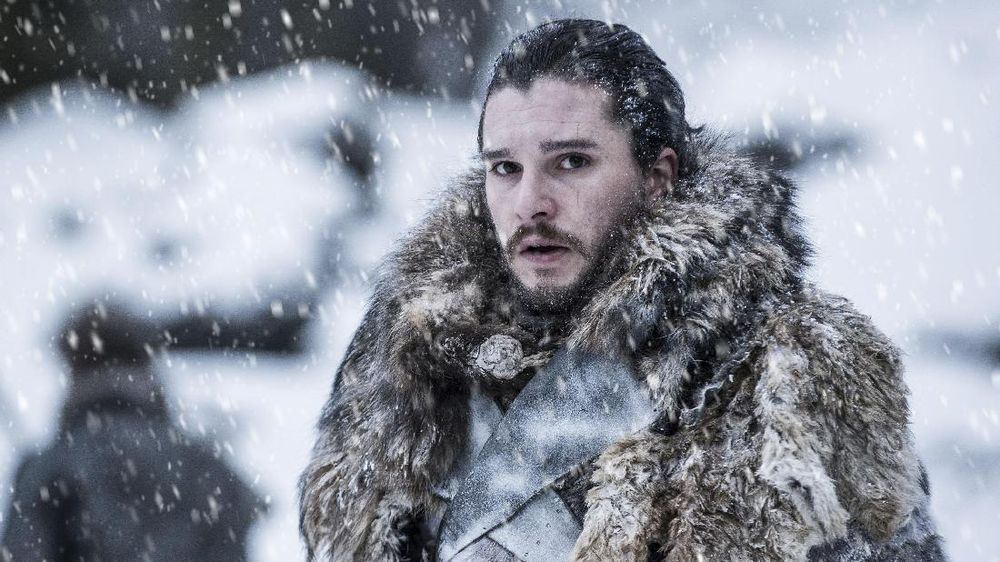 Jon Snow Enggan Tonton Musim 8 Game of Thrones
