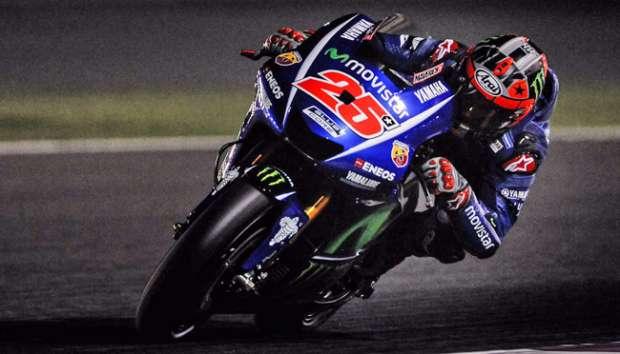 MotoGP: Tebus Kegagalan, Vinales Kembali Tercepat di Latihan Ke-3