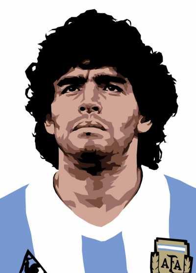 Maradona Tuntut Konami