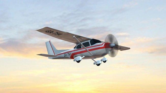 Seorang Pilot Tulis Pesan Unik di Langit Australia