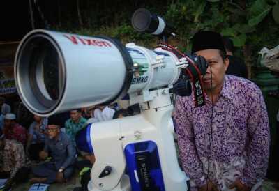 PWNU: Hilal di Jawa Timur Terlihat