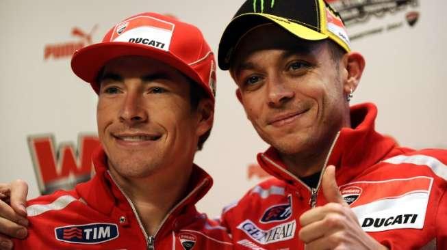 Nicky Hayden Tutup Usia, Valentino Rossi Sulit Berkata-kata