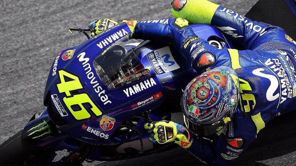 Valentino Rossi Catat Hasil Buruk di Tes MotoGP Thailand