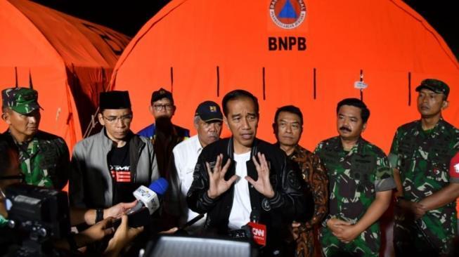 Gempa Lombok, Presiden Minta Segala Masalah Diselesaikan Cepat