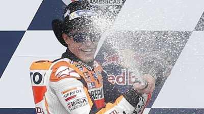 Marquez Start Terdepan di Austin Lima Kali Berturut-turut