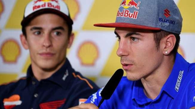 Bukan Rossi, Tapi Marquez yang Ditakuti Vinales di MotoGP AS