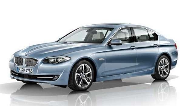 BMW Seri 5 Meluncur di India
