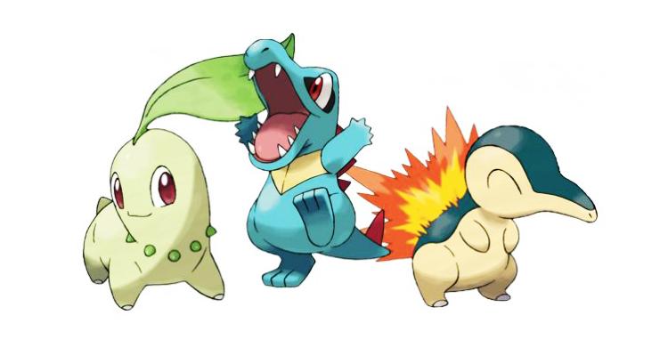 Pokemon Generasi Kedua Resmi Dirilis