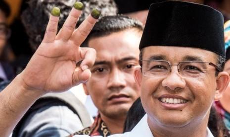 Unggul di Survei, Anies: Warga Ingin Pergantian Gubernur Kok