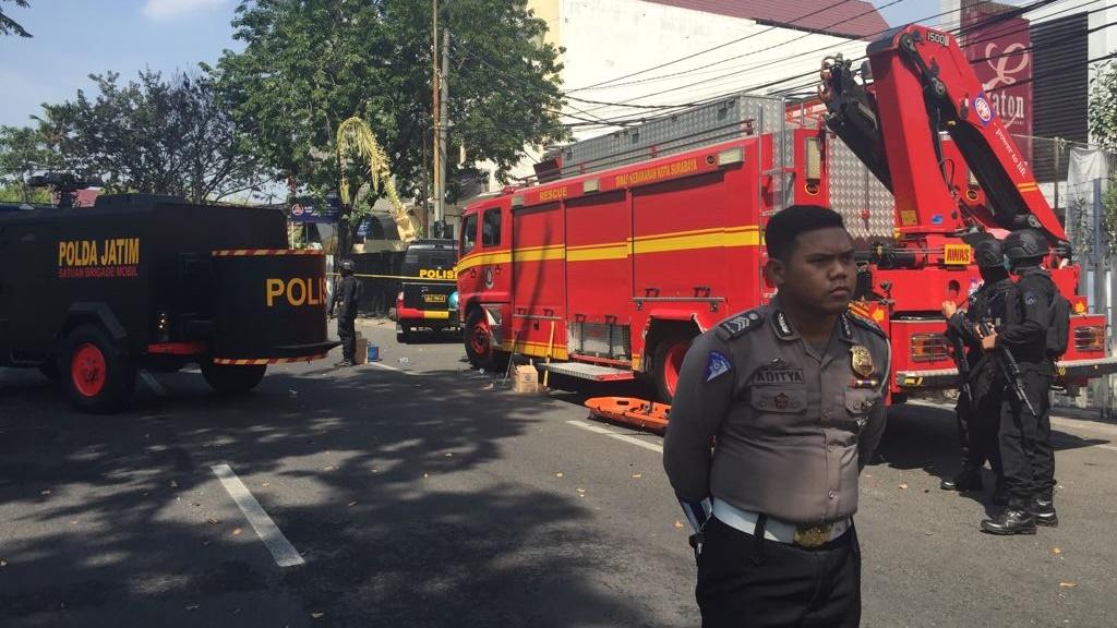 8 Orang Tewas Akibat Ledakan Bom Gereja Surabaya, 38 Luka-luka