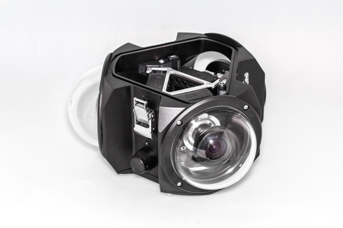 Boxfish 360: Kamera Bawah Air Bersensor MFT untuk Merekam Video 5K 360 Derajat
