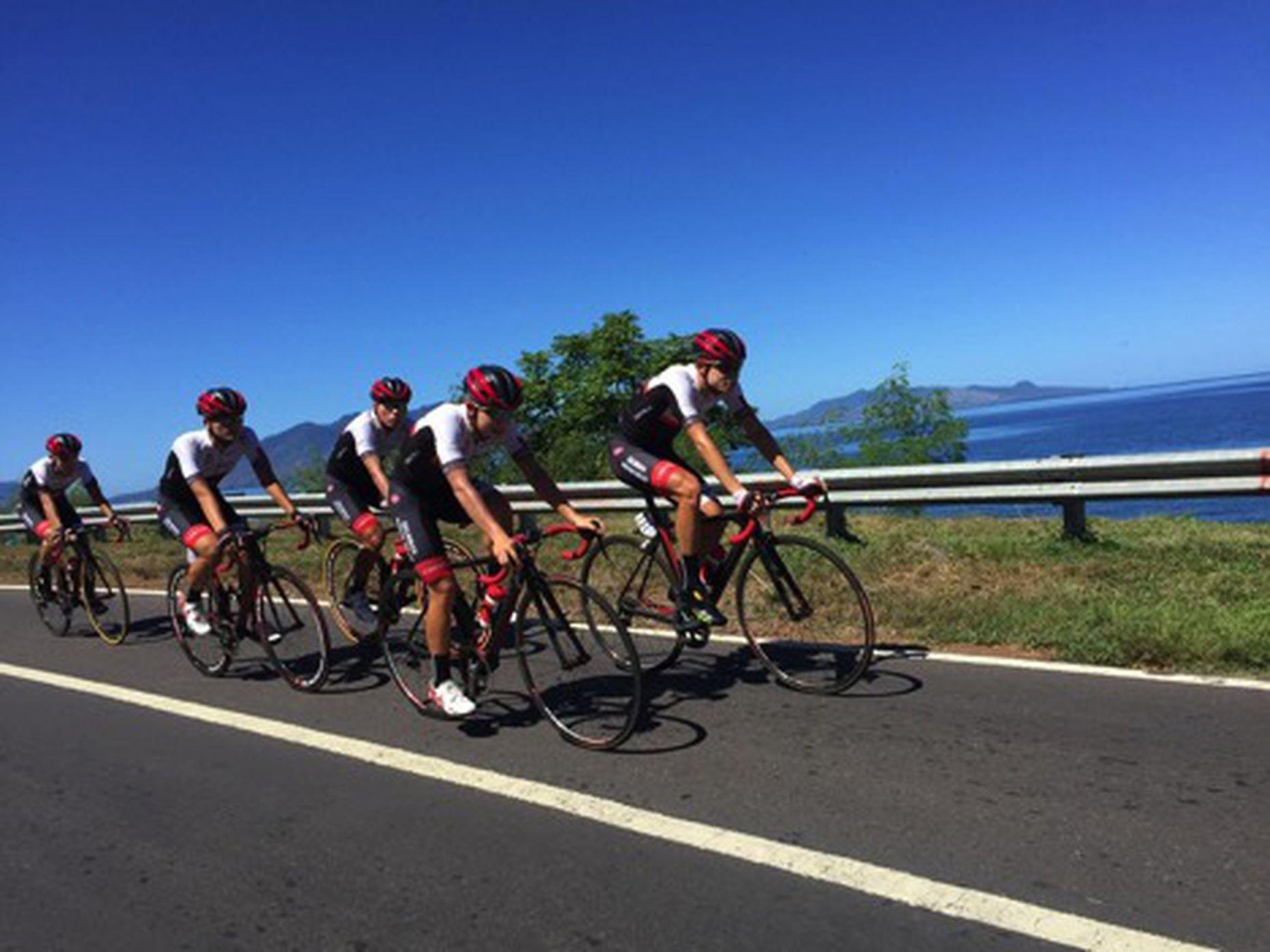Pebalap Australia Jadi Juara Etape I Tour de Flores 2017