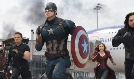 Captain America Tinggalkan Perisainya di Film Terbaru