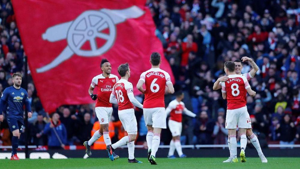 Arsenal Kalahkan Manchester United di Liga Inggris
