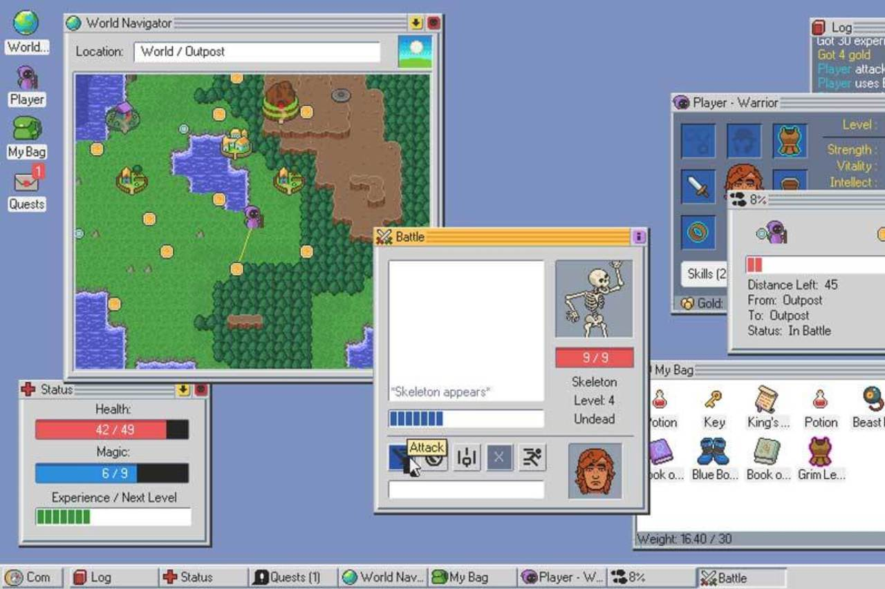 Kingsway Buat PC Anda Layaknya Role Playing Game