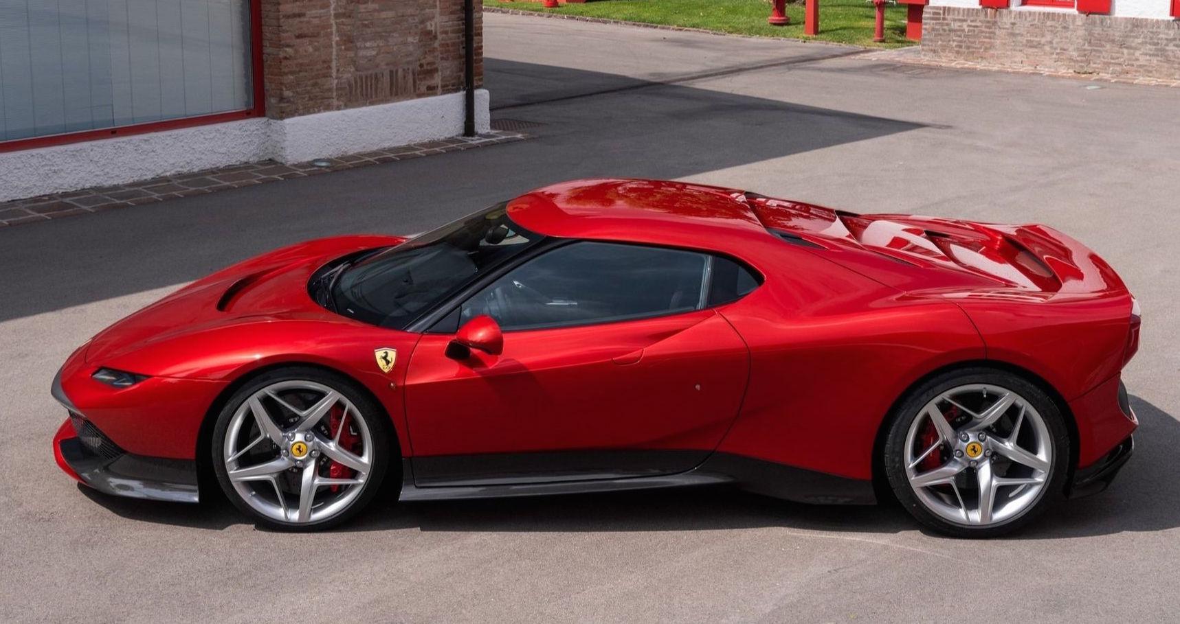 Wujud Ferrari SP38 Deborah yang Hanya Ada Satu Di Dunia