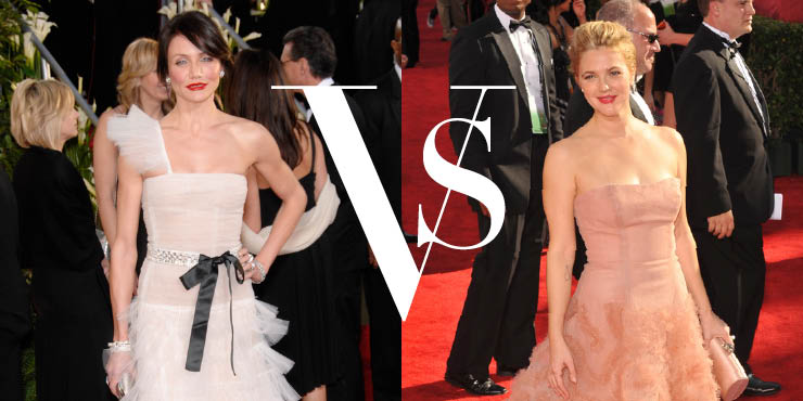 Drew Barrymore vs Cameron Diaz Dalam Fashion