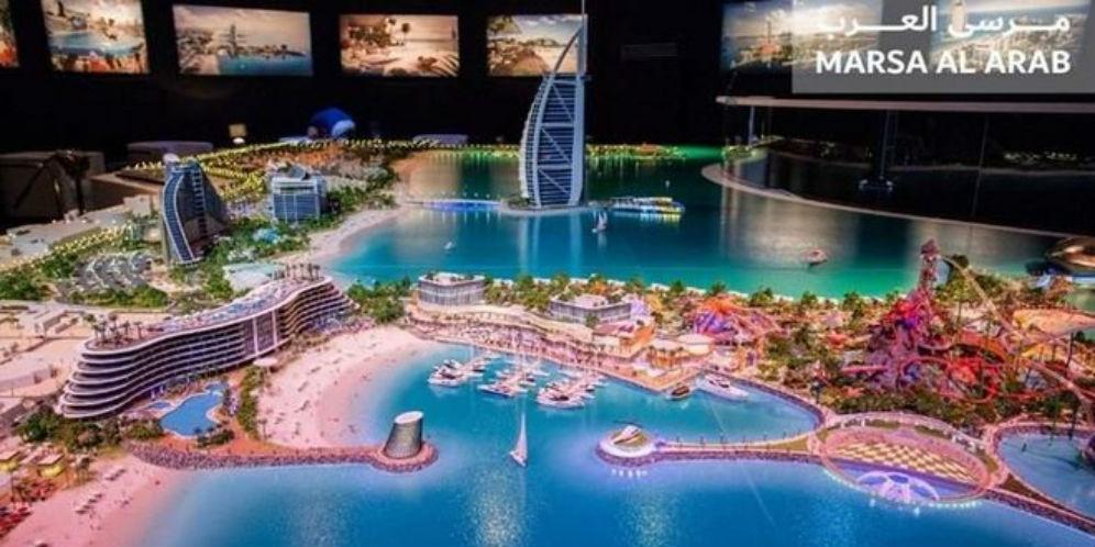 Dubai Bangun Dua Pulau Buatan untuk Tujuan Wisata Baru