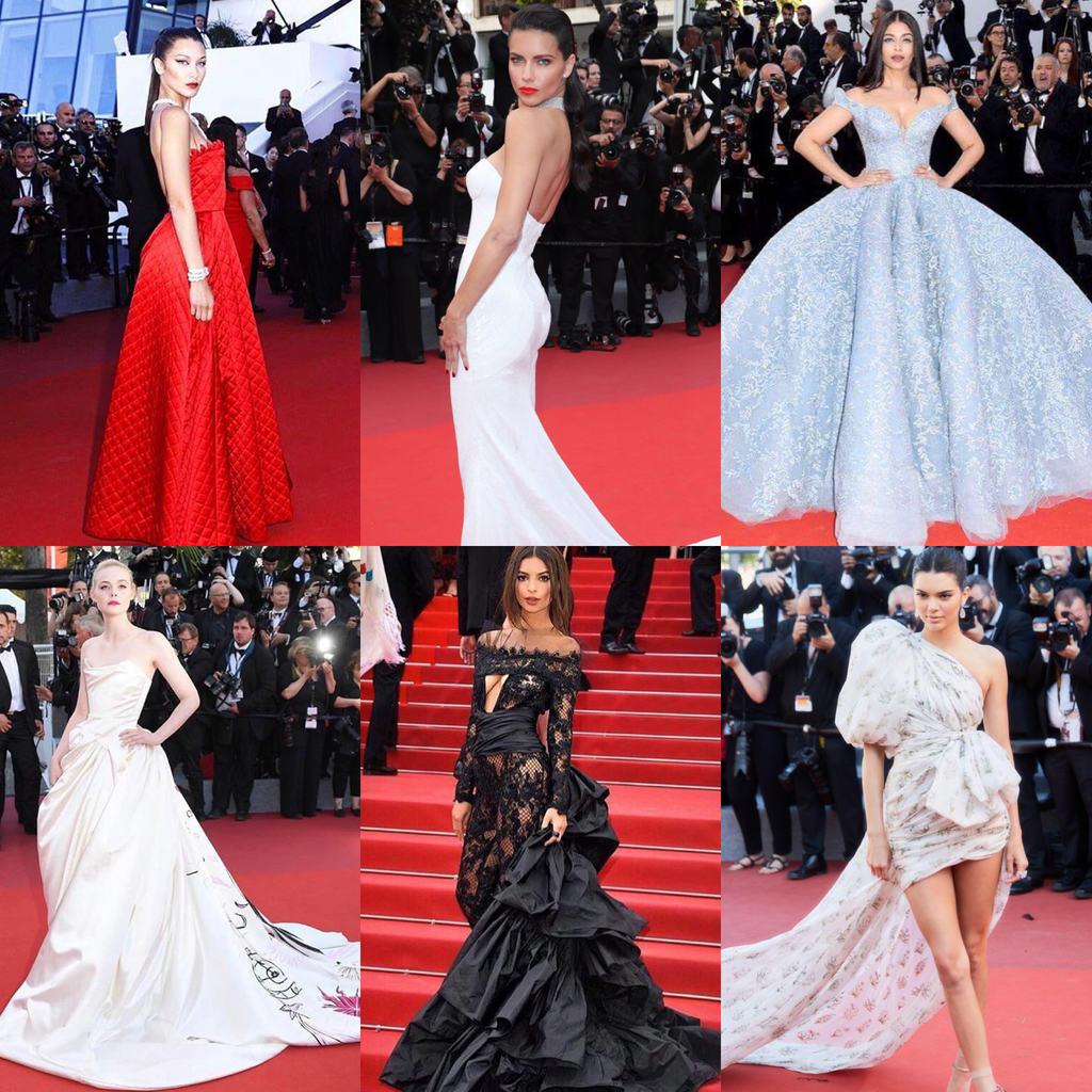 Busana Terbaik di Cannes Film Festival 2017