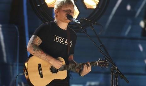 Ed Sheeran Rilis Lagu Baru di Ulang Tahunnya