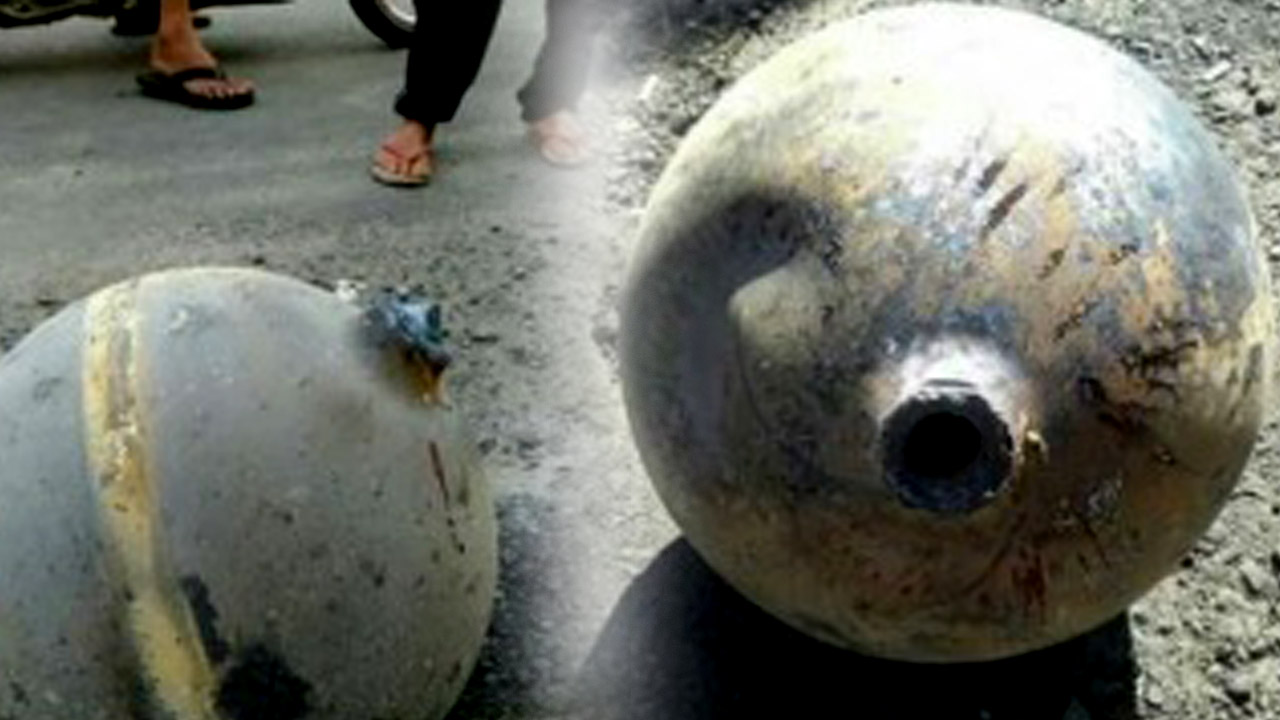 Serpihan Roket Cina Jatuh di Sumbar