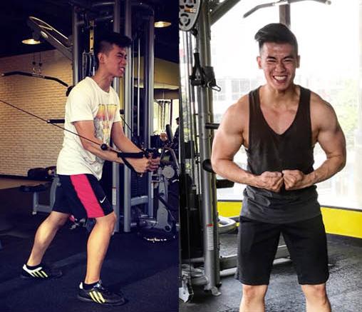 pria ini ubah badan kurus jadi atletis uzone