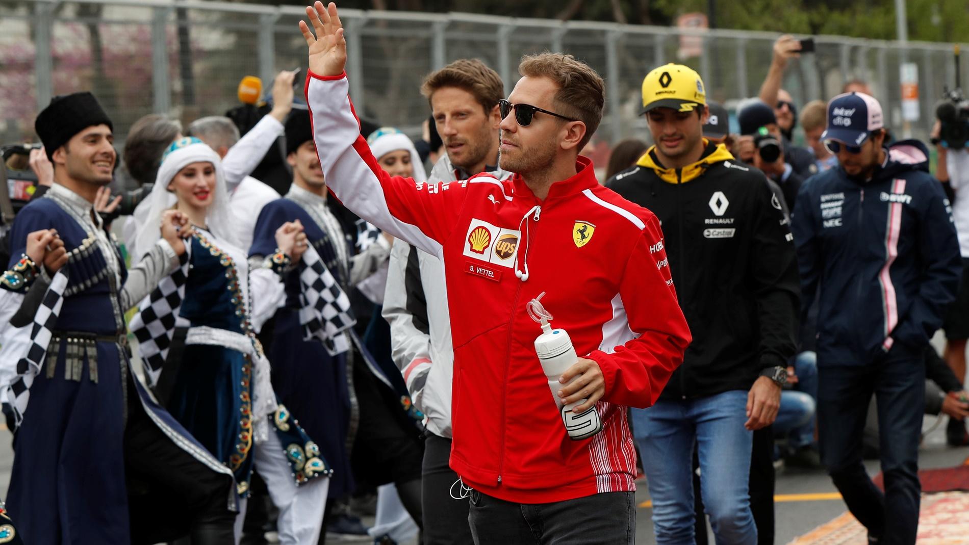 Vettel: Untuk Menang, Saya Hanya Perlu Menyalip Dua Pebalap Mercedes