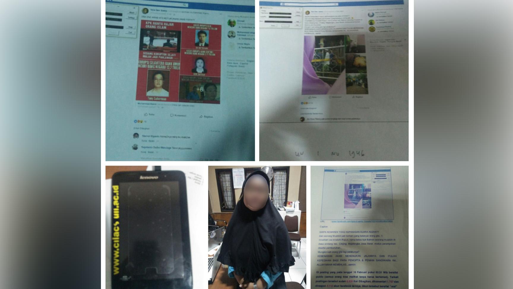 Dosen Penyebar Hoaks Muazin Dibunuh Masuk Jaringan Muslim Cyber Army