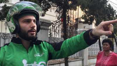 Anton Lucanus, Driver Go-Jek Bule yang Bikin Baper Netizen