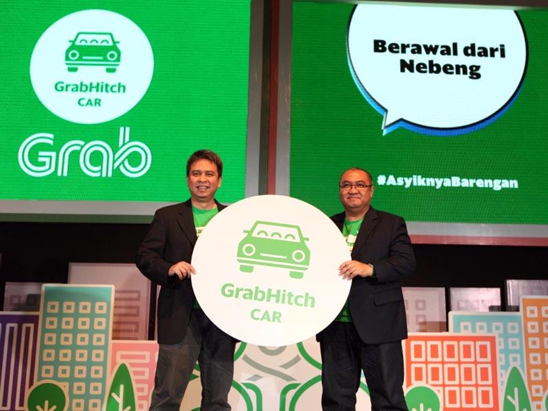 Grab Luncurkan Layanan GrabHitch Mobil di Indonesia