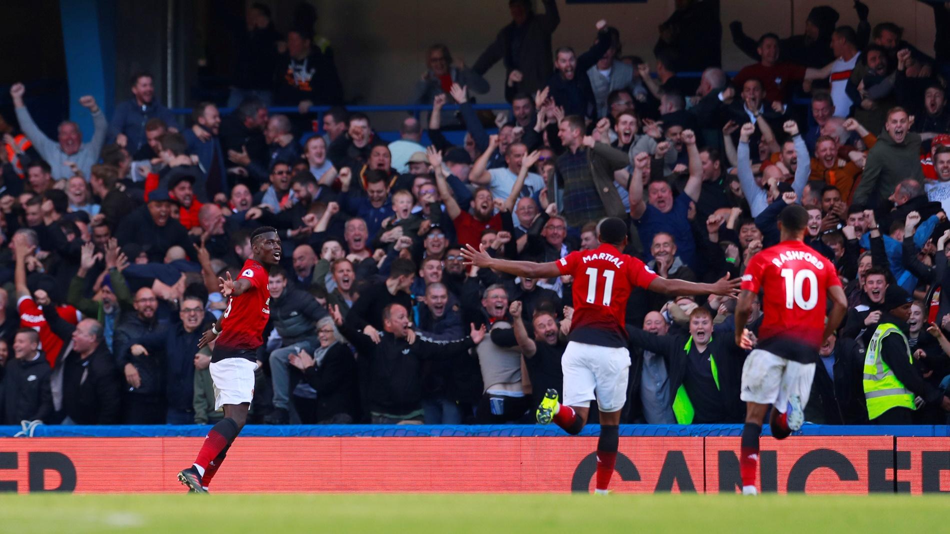 Gol Injury Time Barkley Buyarkan Kemenangan United di Markas Chelsea