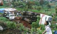 Kecelakaan Maut di Puncak, 11 Orang Meninggal Dunia, Belasan Lainnya Luka-luka