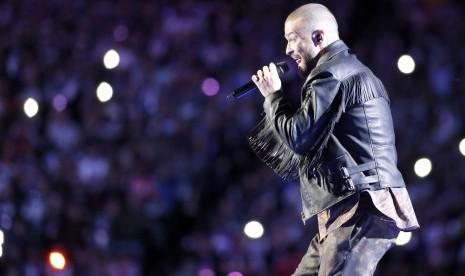 Konser Justin Timberlake Siarkan Semifinal Piala Dunia