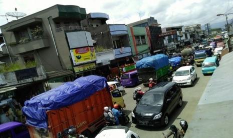 Kemacetan Parah Sukabumi Masih Berlanjut