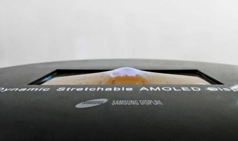 Samsung Kenalkan Layar Sentuh Lentur